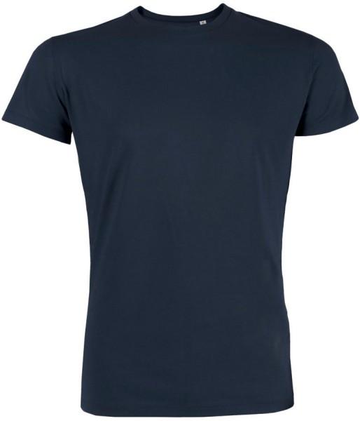 Leads - Kurzarmshirt aus Bio-Baumwolle - navy