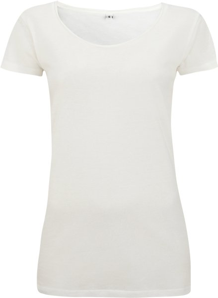 Raw Edge Jersey T-Shirt - natural - Bild 1