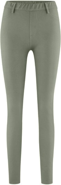 Treggings aus Bio-Baumwolle - light khaki