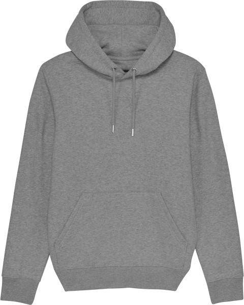 Unisex Hoodie aus Bio-Baumwolle - mid heather grey