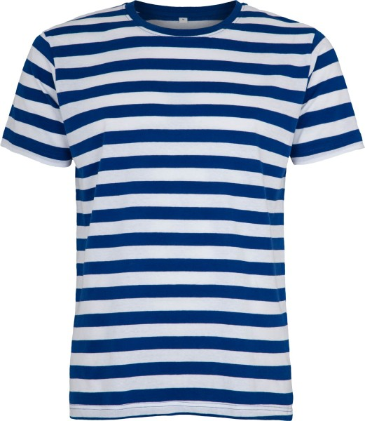 Striped T-Shirt blau-weiss