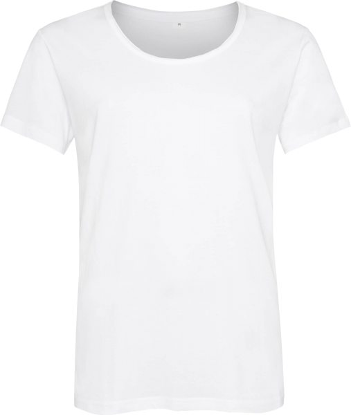 Organic Raw Scoop T-Shirt - white