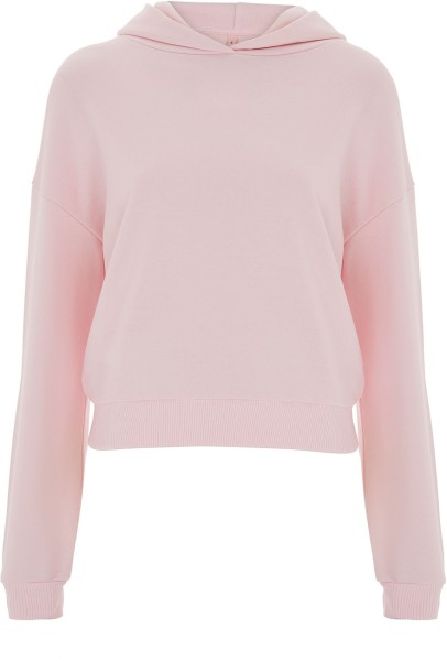 Cropped Hoodie - light pink