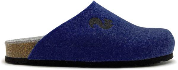 Filz Clogs aus recyceltem PET - dunkelblau