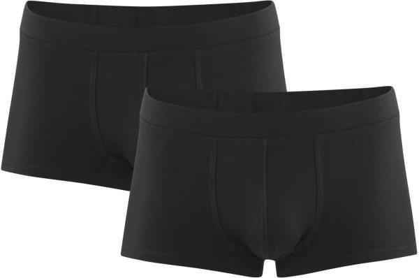 Herren Pants aus Bio-Baumwolle - 2er-Pack - black
