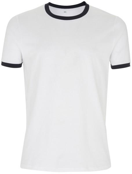 c6cb6d25a8fda9 ... TShirt Abmessungen Tabelle. Ringer-Shirt weiss navy fair EP100