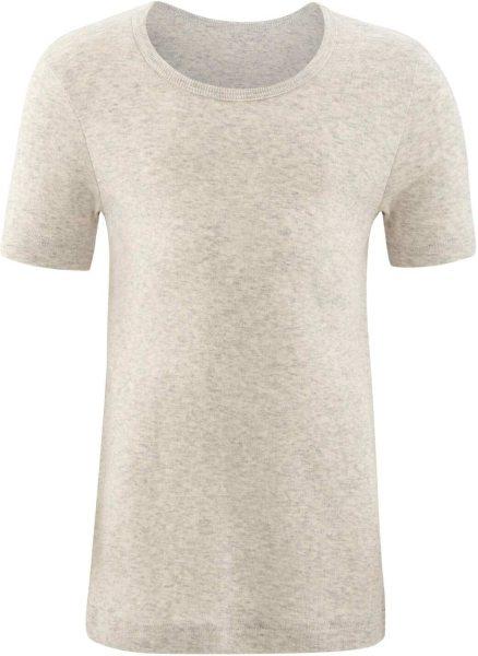 Kinder T-Shirt aus Bio-Baumwolle - natural melange
