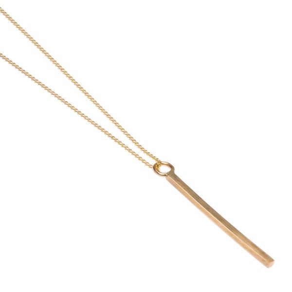 Bar Necklace – Kette aus Fairtrade Gold