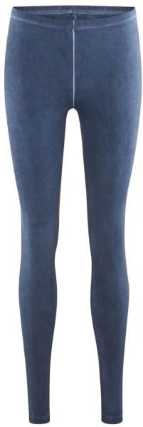 Leggings aus Bio-Baumwolle – indigo blue