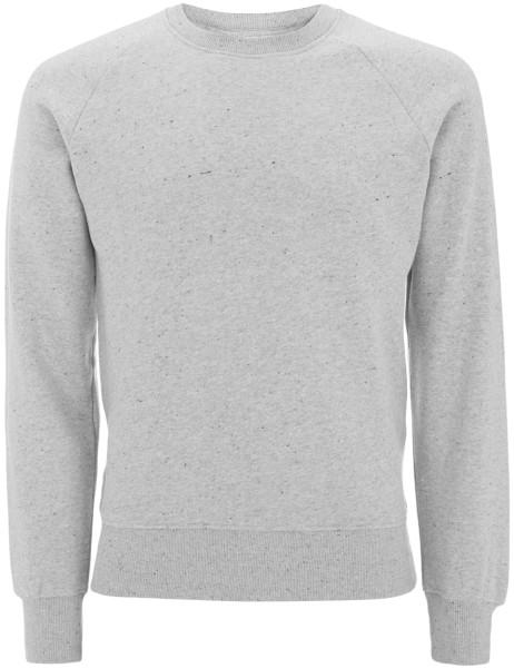 Organic Raglan Sweatshirt - grey marl