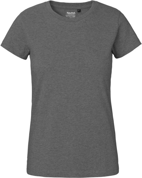 Classic T-Shirt aus Fairtrade Bio-Baumwolle - dark heather