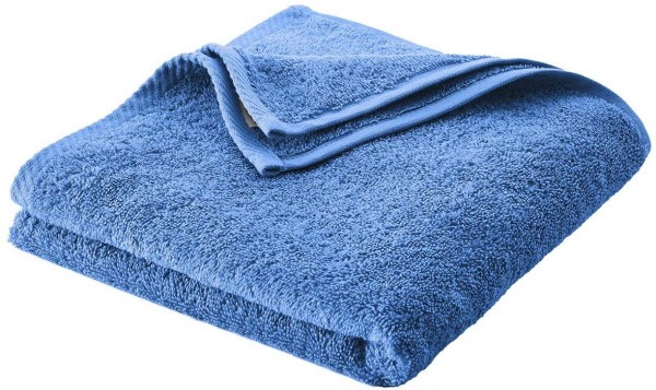 Handtuch Bio-Baumwolle - azur