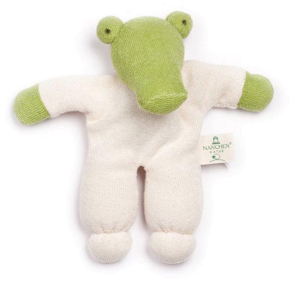 Nuckitier Kroko Puppe aus Bio-Baumwolle - Bild 1