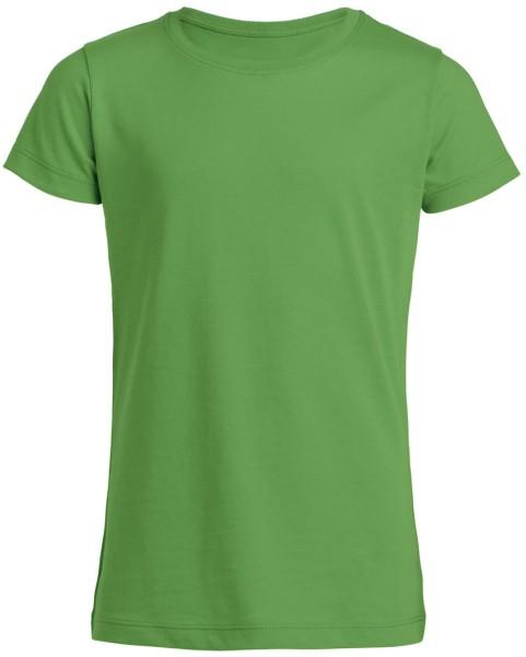 T-Shirt Mädchen Biobaumwolle grün Mini Draws