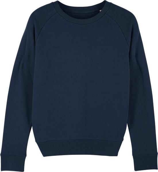 Sweatshirt aus Bio-Baumwolle - french navy