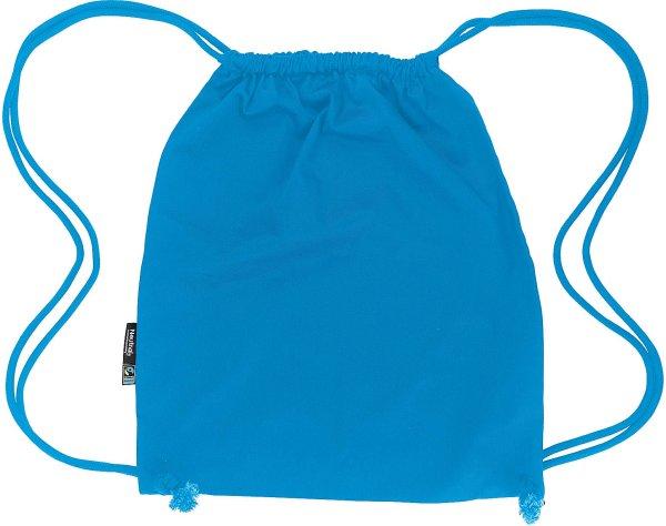 Gym Bag aus Fairtrade Bio-Baumwolle - sapphire