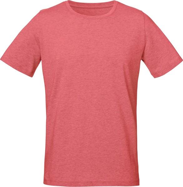 Live - Unisex T-Shirt mit Seitenschlitzen - heather cranberry