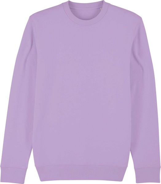 Unisex Sweatshirt aus Bio-Baumwolle - lavender dawn