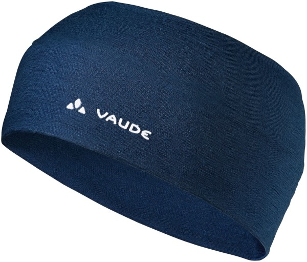 Stirnband navy Cassons Merino Headband VAUDE fair