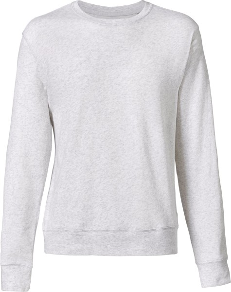 Leichter Sweater aus Bio-Baumwolle - heather ash