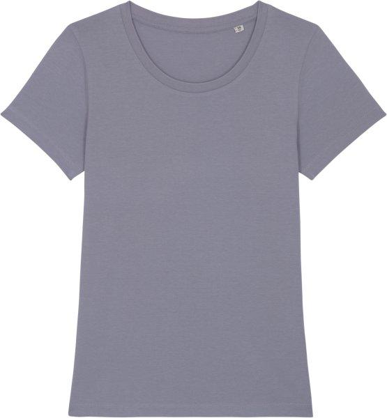 T-Shirt aus Bio-Baumwolle - lava grey