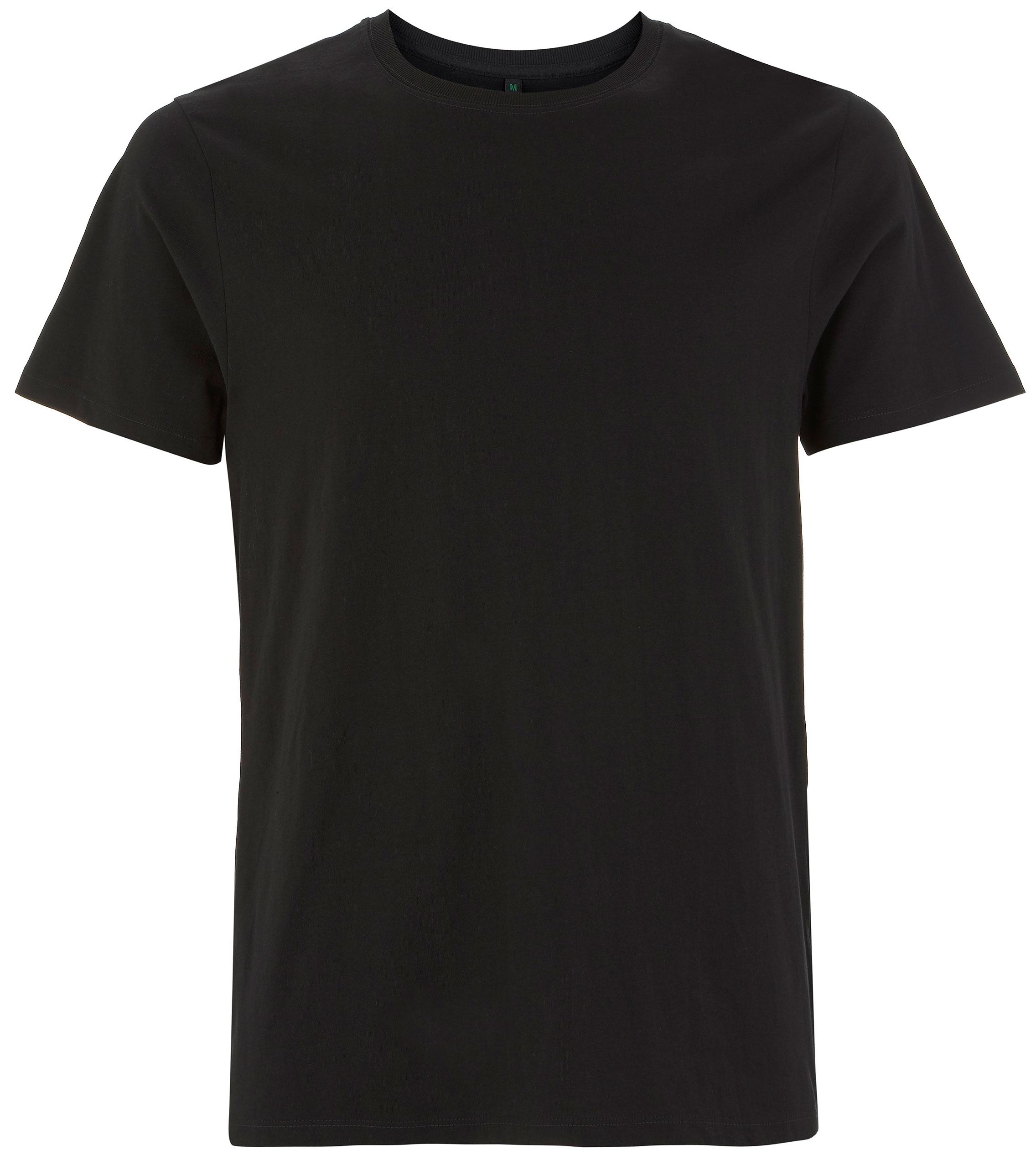 Organic Heavy T Shirt   schwarz