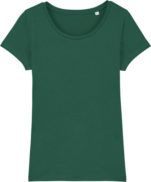 Jersey-Shirt aus Bio-Baumwolle - bottle green