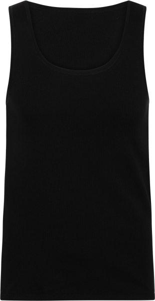 Unterhemd aus Fairtrade Biobaumwolle - schwarz