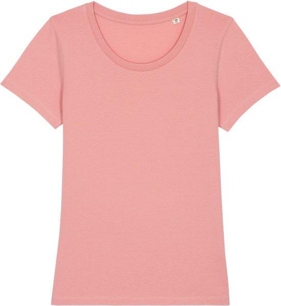 T-Shirt aus Bio-Baumwolle - canyon pink