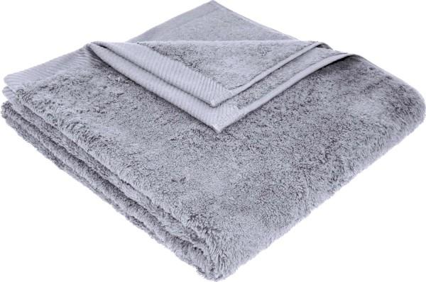 Flauschiges Badetuch aus Bio-Baumwolle - 70x140 lilac grey