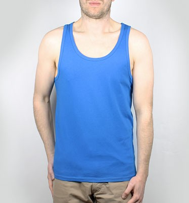 Runs - Tank-Top aus Biobaumwolle - blau - Bild 1