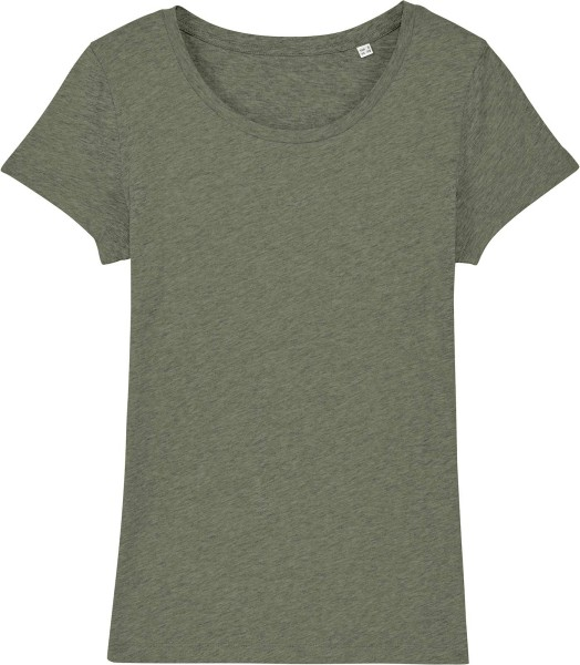 Jersey-Shirt aus Bio-Baumwolle - mid heahter khaki