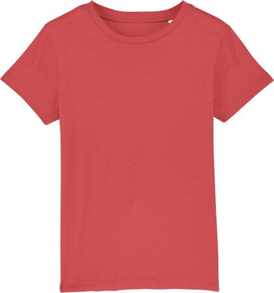 Kinder T-Shirt aus Bio-Baumwolle - carmine red