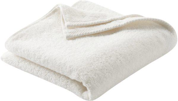 Handtuch aus Bio-Baumwolle 100x50 cm natur - Bild 1