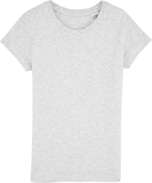 Kinder T-Shirt - Mini Draws Bio-Baumwolle - heather ash - Bild 1