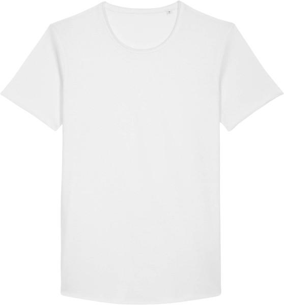 Long T-Shirt aus Bio-Baumwolle - white