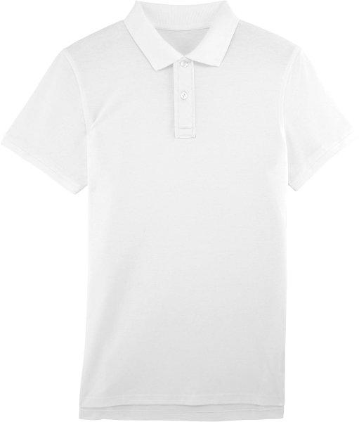 Performs - Piqué-Poloshirt aus Bio-Baumwolle - weiss