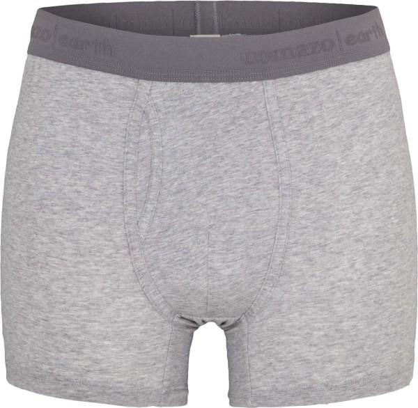 Trunk-Shorts aus Fairtrade Biobaumwolle - grau-melange