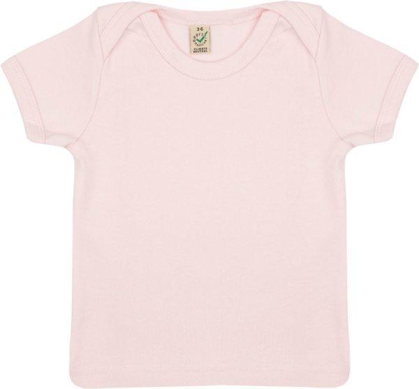 Baby T-Shirt aus Bio-Baumwolle - powder pink - Bild 1