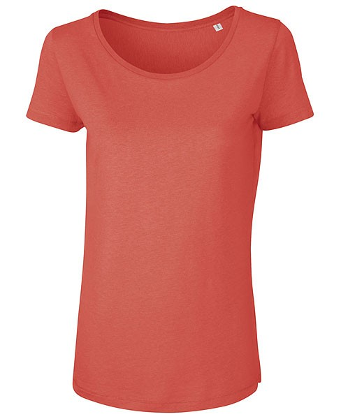 Loves Modal - T-Shirt aus Modalfasern - hot coral - Bild 1