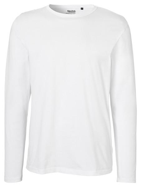 Neutral - Herren Longsleeve Shirt - weiß