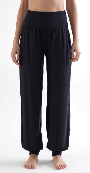 Yoga Pants aus Tencel - black
