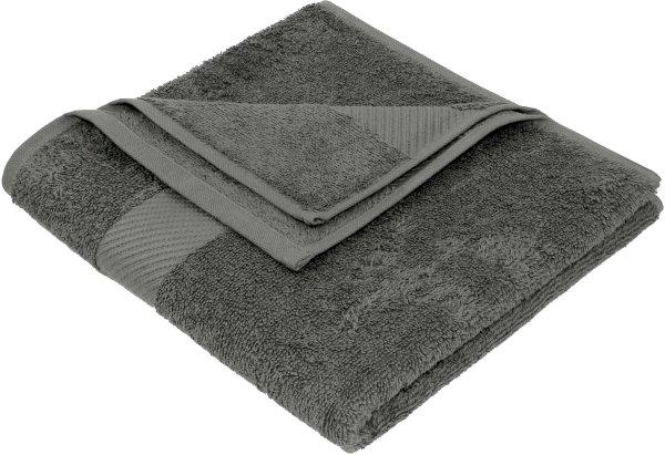 Handtuch aus Bio-Baumwolle - 50x100 dunkelgrau - Bild 1