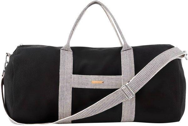 Weekender-Tasche aus Bio-Baumwolle - black