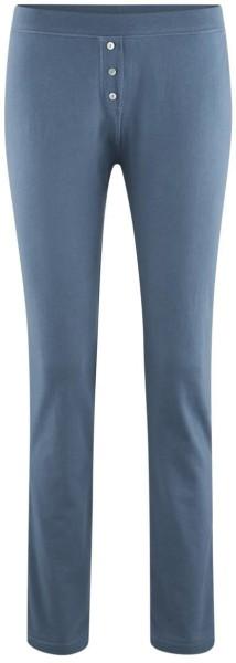 Schlaf-Hose aus Bio-Baumwolle - twilight blue