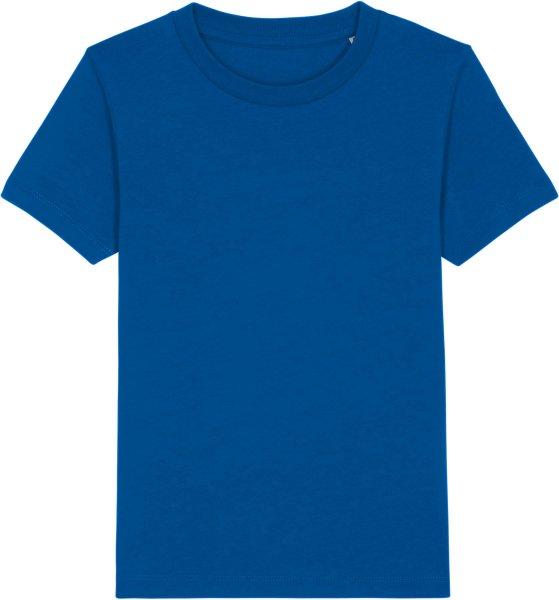 Kinder T-Shirt aus Bio-Baumwolle - majorelle blue