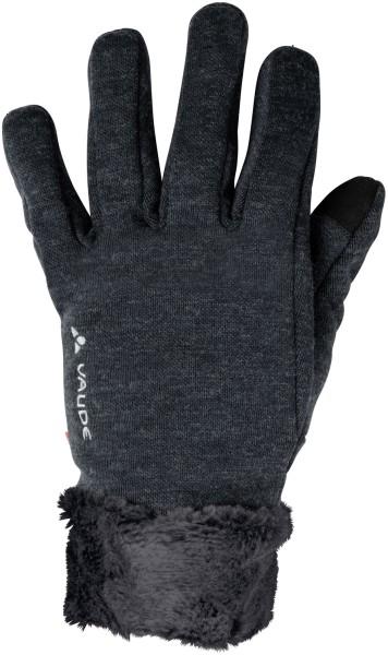 Handschuh schwarz Tinshan Gloves Kunstpelz 40607