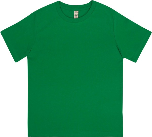 Kinder T-Shirt aus Bio-Baumwolle - kelly green