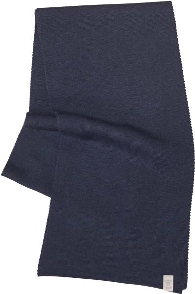 Schal aus Merinowolle - navy