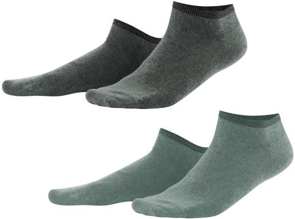 Sneaker-Socken Bio-Baumwolle - reed/khaki